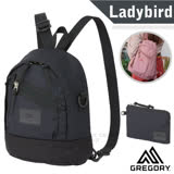 【美國 GREGORY】新款 LADYBIRD 2WAY MINI 4L 兩用多用途迷你後背包+手挽袋(肩帶可轉換為肩背)/131370 黑
