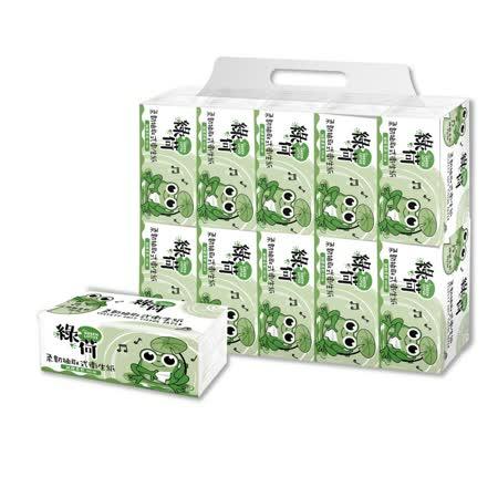 綠荷柔韌 衛生紙100抽X100包