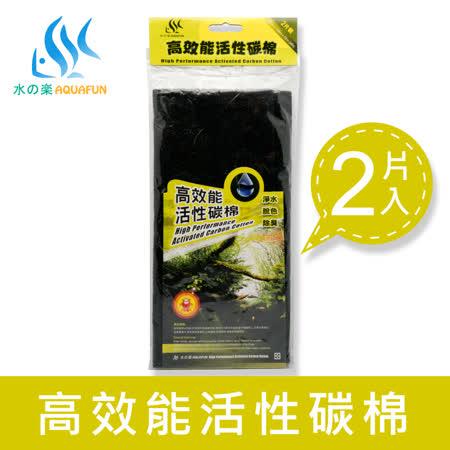 水之樂  高效能活性碳棉 2片裝