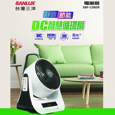 SANLUX 台灣三洋 8吋DC循環扇