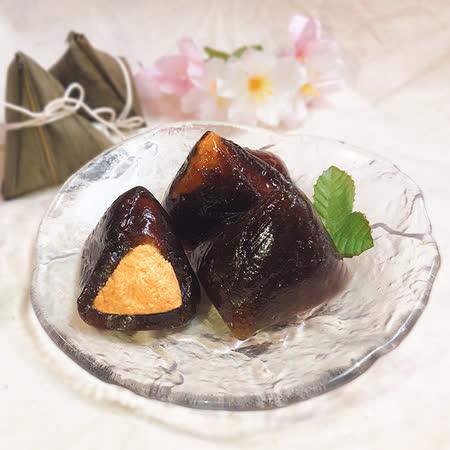 《喜憨兒端午預購》黑糖冰粽8入禮盒 (買十盒送一盒)