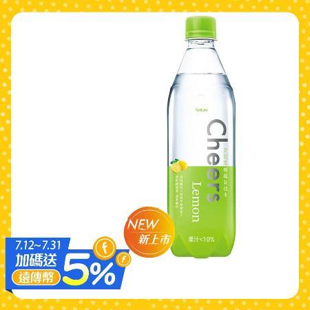 泰山 Cheers Lemon 檸檬氣泡水 (24入/箱)