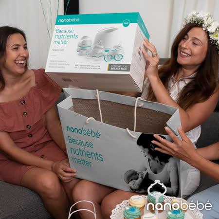 nanobebe  母乳奶瓶禮盒