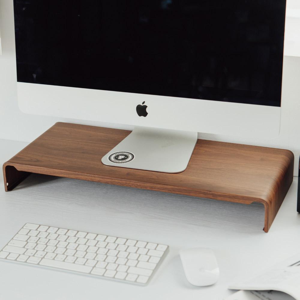 Peachy Life 第二代木紋質感螢幕架/墊高架/電腦(2色可選)