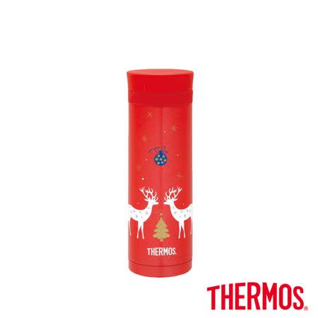 聖誕麋鹿 不鏽鋼真空保溫杯300ml