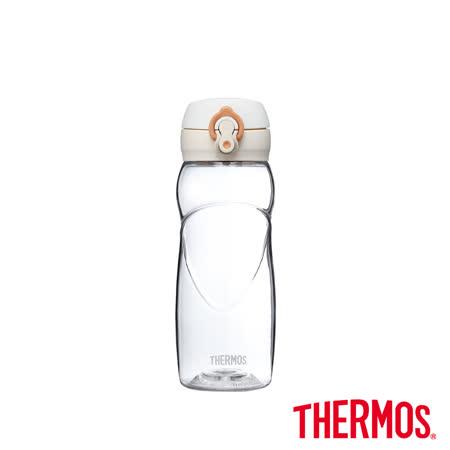 酷蓋輕水瓶 米白色500ml