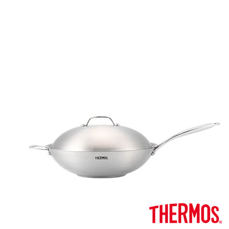 不鏽鋼緻藝 炒鍋36cm