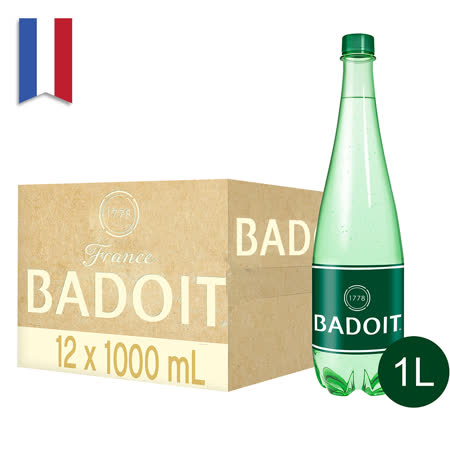 BADOIT波多 氣泡礦泉水(12入/PET)