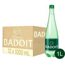 買一送一【BADOIT波多】天然氣泡礦泉水1000ml(12入/PET)