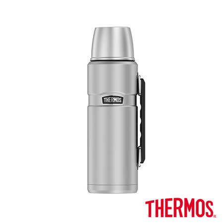 長效型真空保溫瓶 不鏽鋼色1200ml