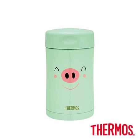 豬事吉祥-綠 保溫食物燜燒罐500ml