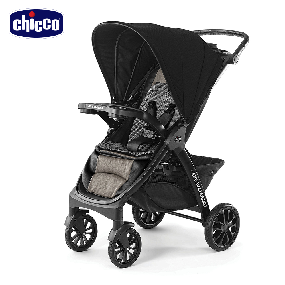 chicco-Bravo極致完美手推車特仕版-典藏醇黑