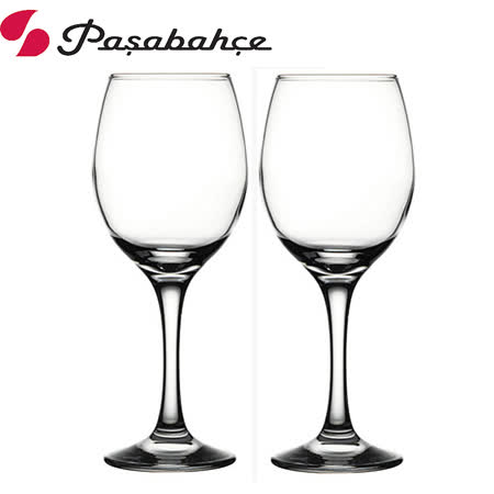 土耳其Pasabahce 高腳紅酒杯370cc-2入