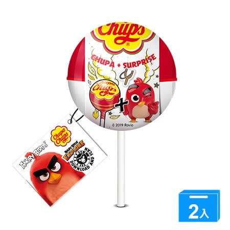 ★買一送一★加倍佳草莓棒棒糖Angry Birds