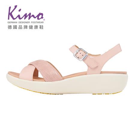 Kimo 德國健康鞋 輕量彈力交叉繫帶涼鞋
