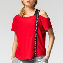 TOUCH AERO個性不規則露肩罩衫TA741(商品不含內搭與配件)