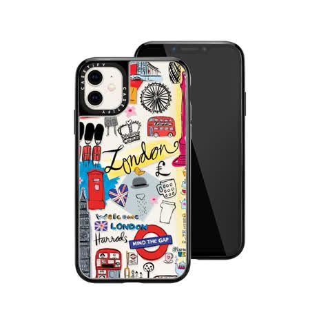 Casetify iPhone 11 輕量耐衝擊保護殼-倫敦印象
