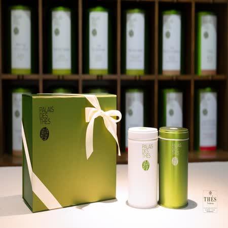 法國宮殿茶(藝妓之花綠茶+聖詹姆士斯里蘭卡紅茶)