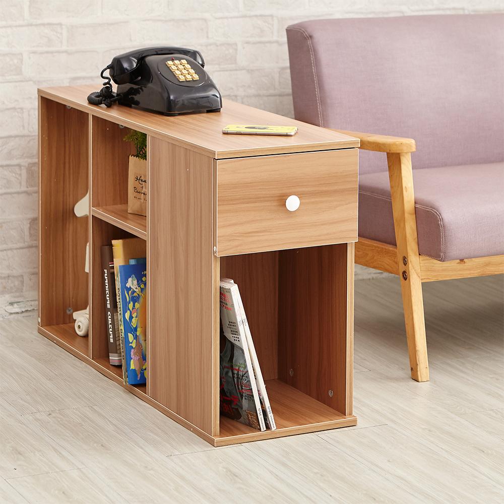 ikloo 簡約優雅收納櫃/玄關櫃/床邊櫃 兩入