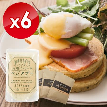 【九州鬆餅】贈濾掛 鮮野菜鬆餅粉x6包