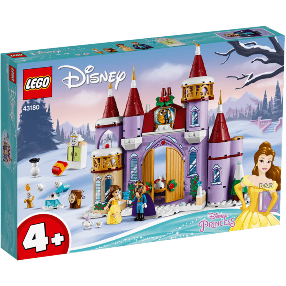 樂高積木 LEGO《 LT43180 》迪士尼公主系列 - 貝兒的城堡冬季慶典