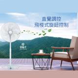 SANLUX 台灣三洋 16吋DC遙控渦輪網立扇 EF-P16DK