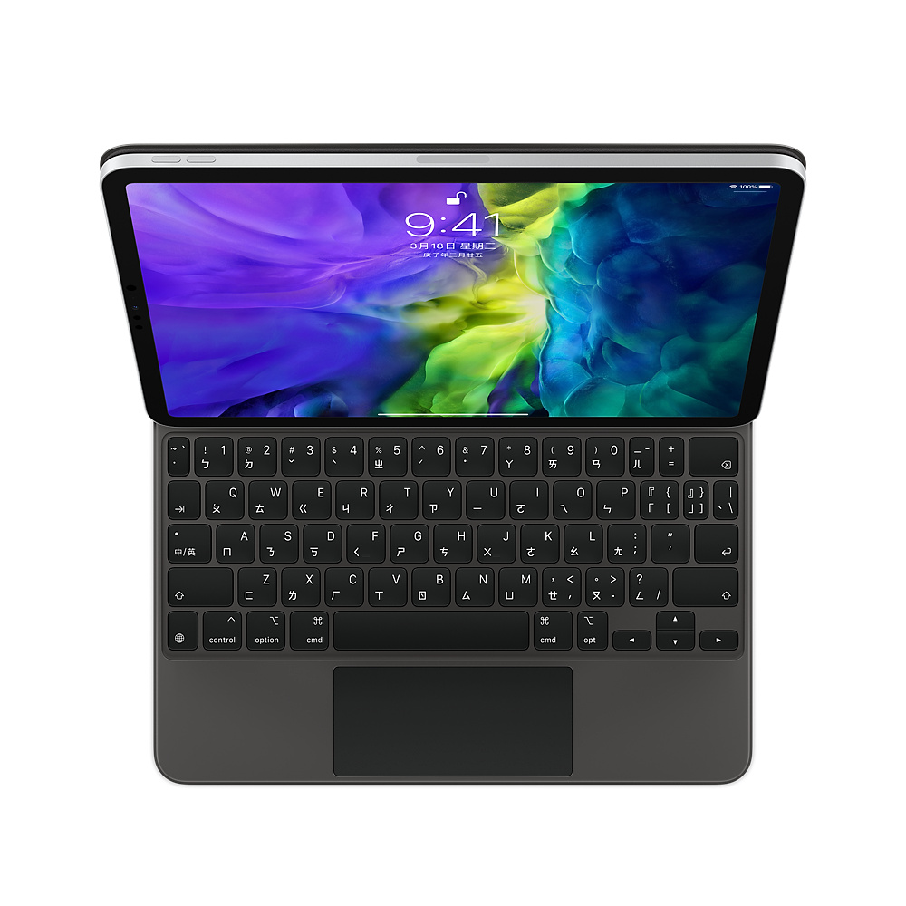 APPLE 巧控鍵盤,適用於 iPad Pro 11 吋 (第 2 代) - 中文 (注音)-MXQT2TA/A