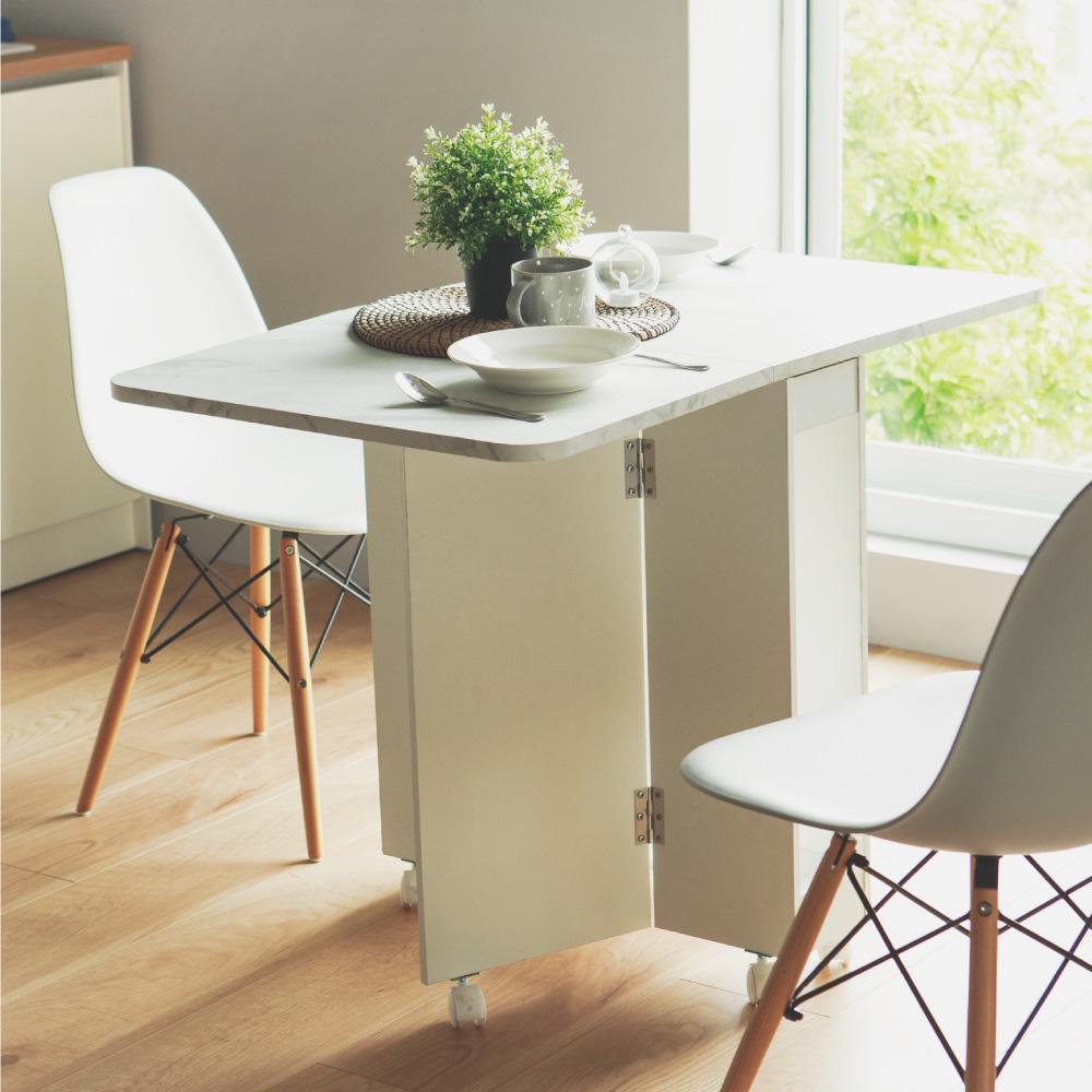 Peachy Life 便利移動機翼折疊桌/餐桌/書桌/茶几桌/桌子(3色可選)
