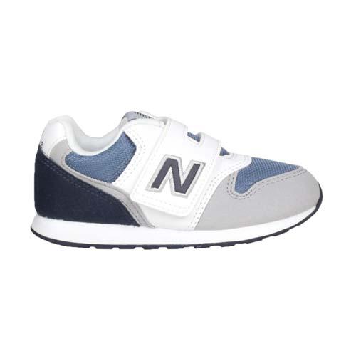 (童) NEWBALANCE 男女小復古慢跑鞋-WIDE-996  NB 寬楦 灰白深藍