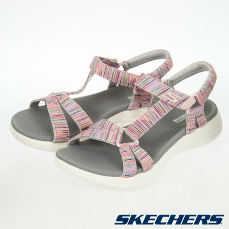 SKECHERS 女 健走系列 涼拖鞋