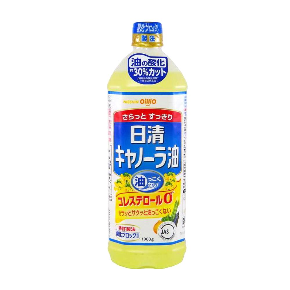 買一送一【日清製油】零膽固醇芥籽油1L