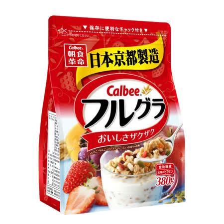 【卡樂比】富果樂 水果麥片 380g / 2入