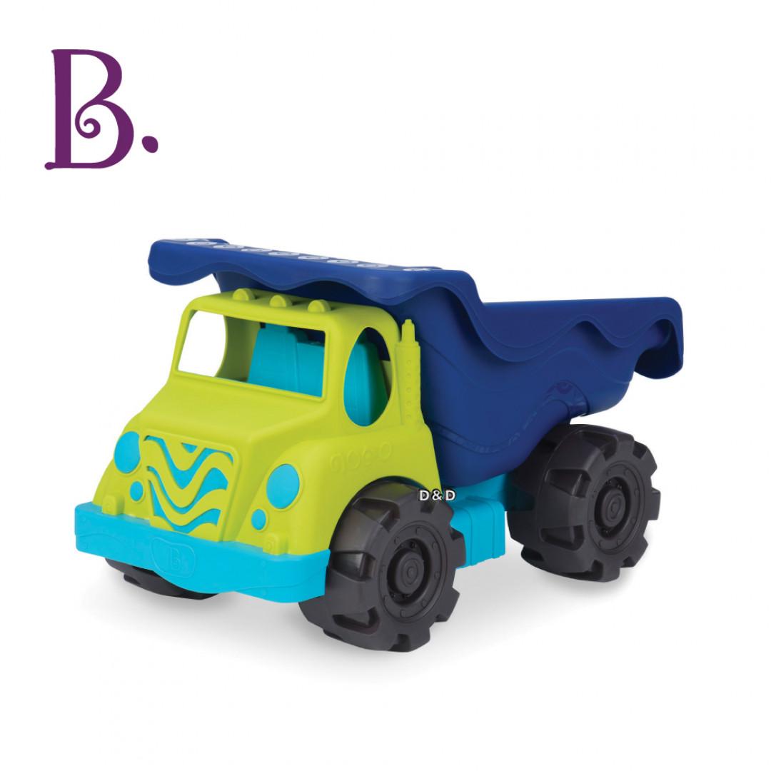 《 美國 B.toys 感統玩具 》海格力士翻斗車