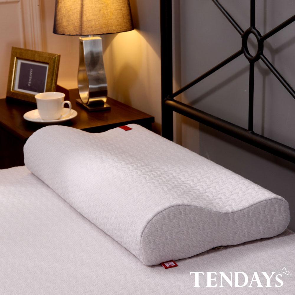 【TENDAYS】柔織舒壓枕(8cm/10cm高 記憶枕 任選單入) 買加贈枕用透氣網