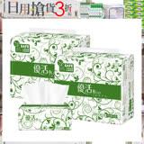 (買一送一) Livi 優活 抽取式衛生紙100抽X10包x6袋