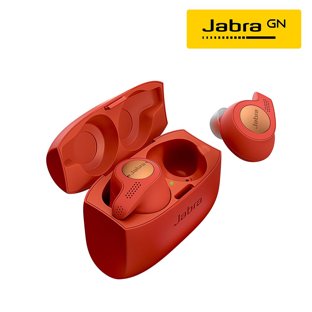 Jabra Elite Active 65t 入耳式全無線運動藍牙耳機-魔力紅