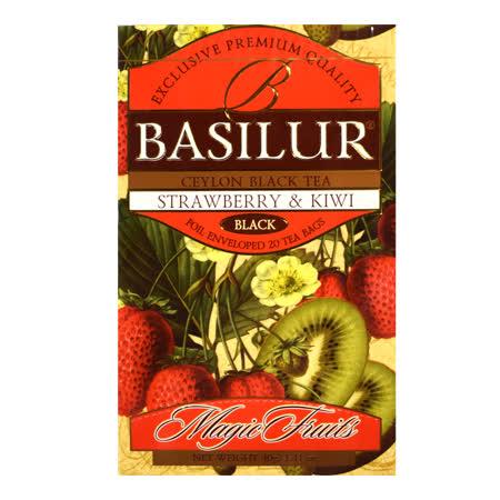 【BASILUR】錫蘭水果 風味茶(草莓&奇異果)