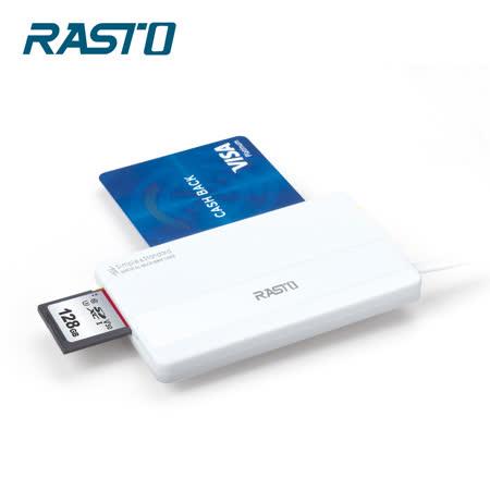 RASTO RT4 超薄型 ATM晶片多功能讀卡機