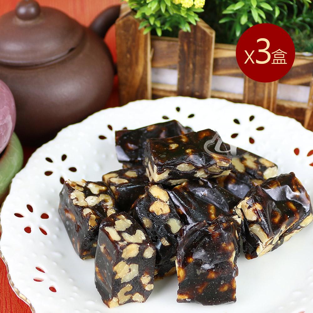 皇覺 手工棗泥核桃糕(735g/盒)x3盒