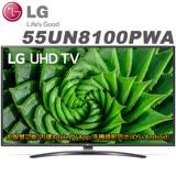*LG樂金 55吋4K IPS AI語音物聯網液晶電視(55UN8100PWA)*送基本安裝