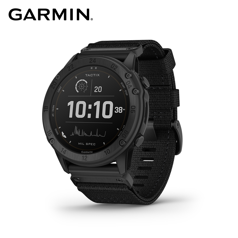 GARMIN Tactix Delta - Solar Edition 太陽能複合式戰術 GPS 腕錶