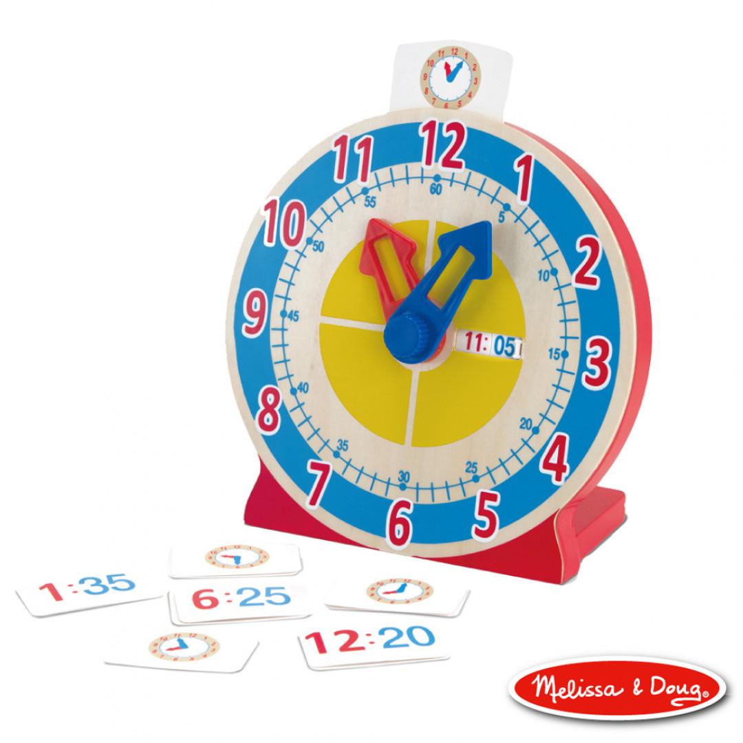《 美國 Melissa & Doug 》 益智-學習認知時鐘