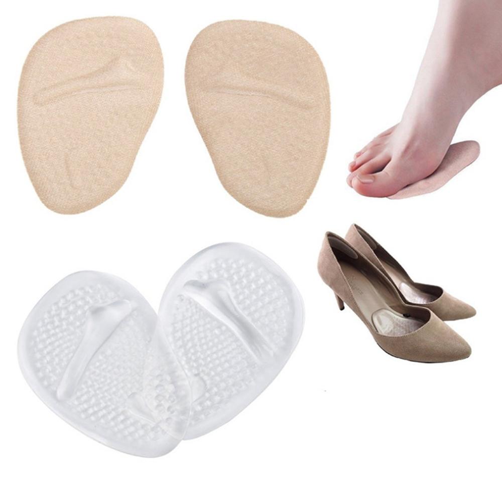 JHS杰恆社abe106口PU矽膠前掌鞋墊蹠骨墊腳掌墊女性高跟鞋的疼痛緩解