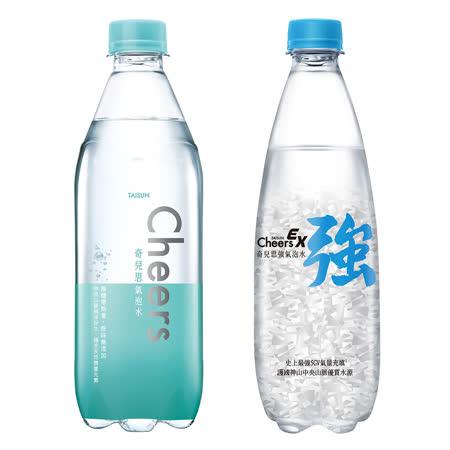 泰山 Cheers  任兩箱指定氣泡水