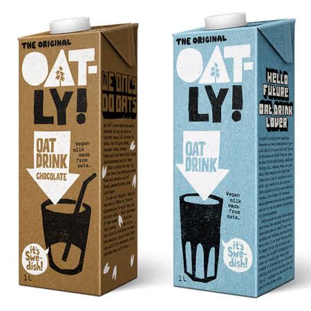 【瑞典Oatly】 原味/巧克力燕麥奶x3瓶
