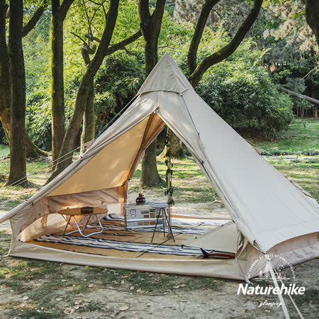Naturehike輕奢風 棉布金字塔帳篷