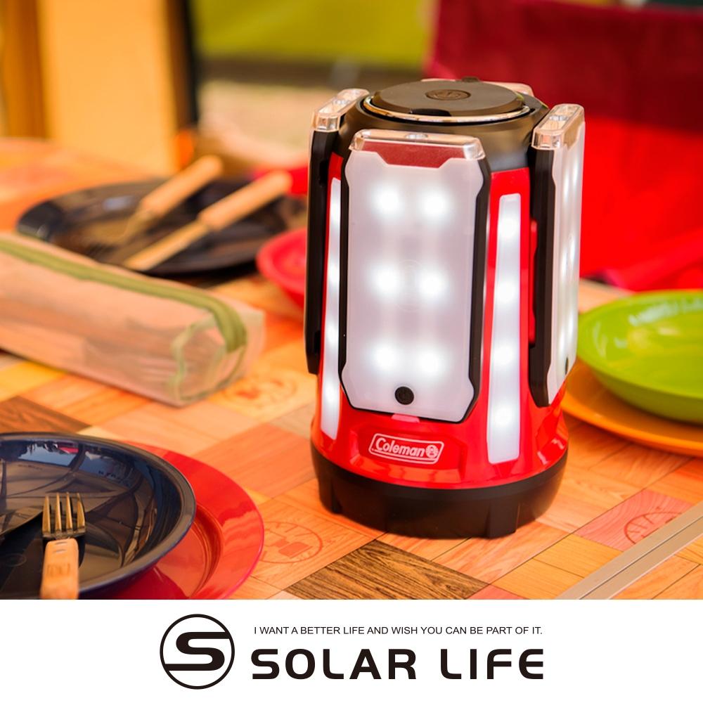 Coleman QUAD面板型營燈 CM-31270.LED露營燈 多功能野營燈 照明手提燈 泛光燈 戶外掛燈手電筒
