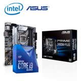 送口罩套【組合包】Intel Core i9-10900K CPU處理器 + ASUS華碩 PRIME-Z490M-PLUS 主機板