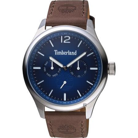 Timberland  玩酷日曆小秒針手錶