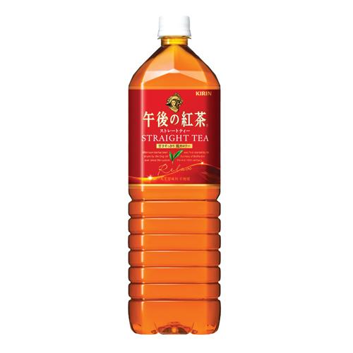箱購【KIRIN午後紅茶】 紅茶  1.5L*8入